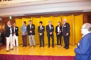 初めに、藤木幸夫会長より横浜港をめぐる諸問題についてお話があり、「アジア諸国の港に負けない強い横浜港を取り戻そう。その為に藤木グループが一丸とならなければならない。」と力強いお言葉でした。